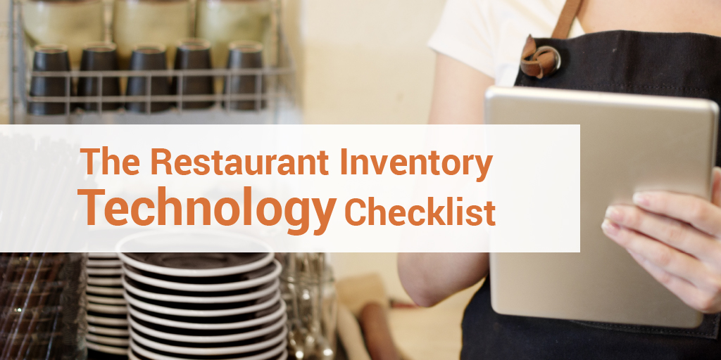 restaurant inventory technology checklist